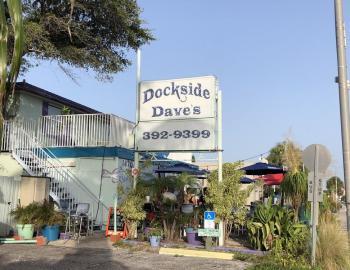 Dockside Dave's sign