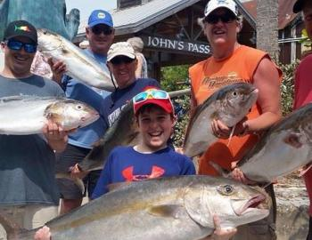 Fish Pro Charters catch of the day