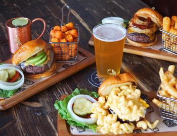 The Avenue burgers