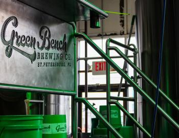 Green Bench Brewing Company sign