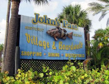 John's Pass Village and Boardwalk