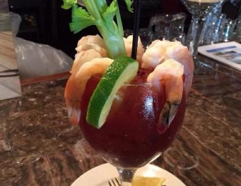 Lisa's Cafe shrimp cocktail