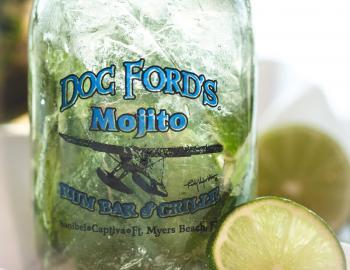 Doc Ford's mojito