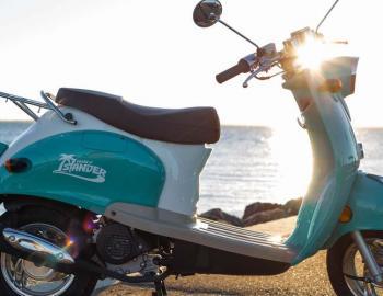 Beach Blast Rentals, scooter