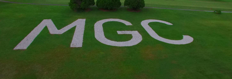Mainlands Golf Course aerial view