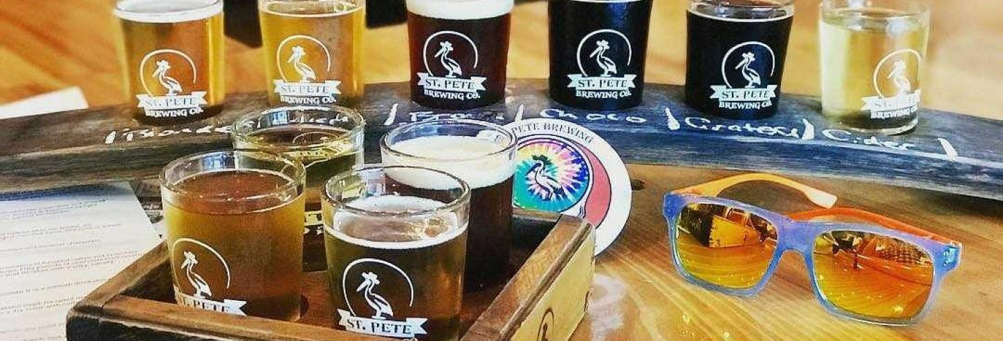St Pete Brewing Company beers
