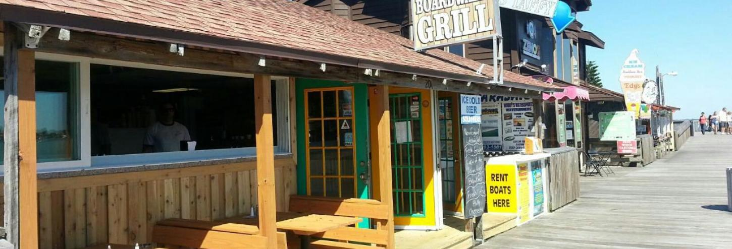 Boardwalk Grill outdoor seating