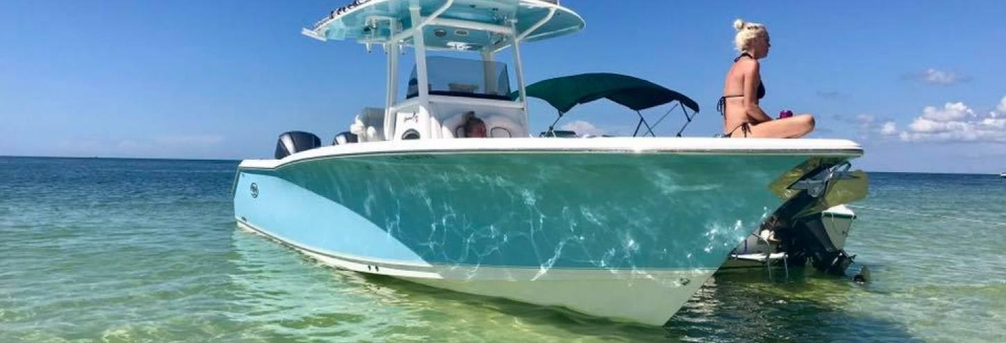 Skirtchaser Fishing Charters boat