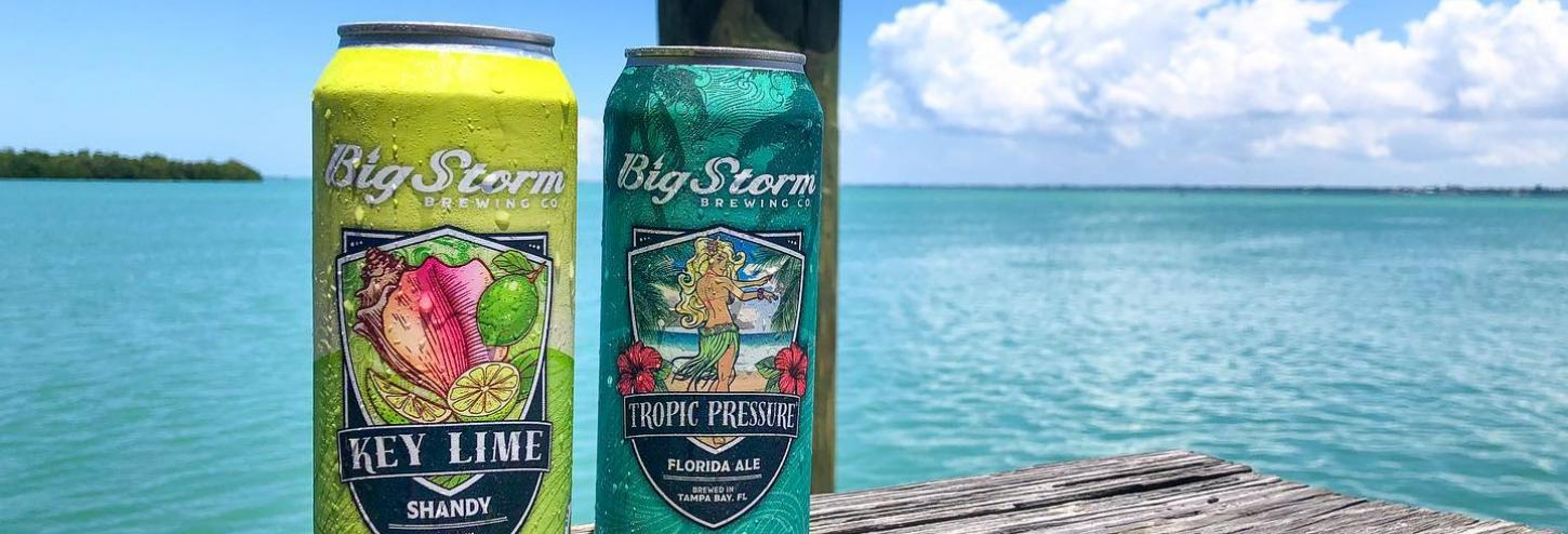 Big Storm Brewing Co. canned beers