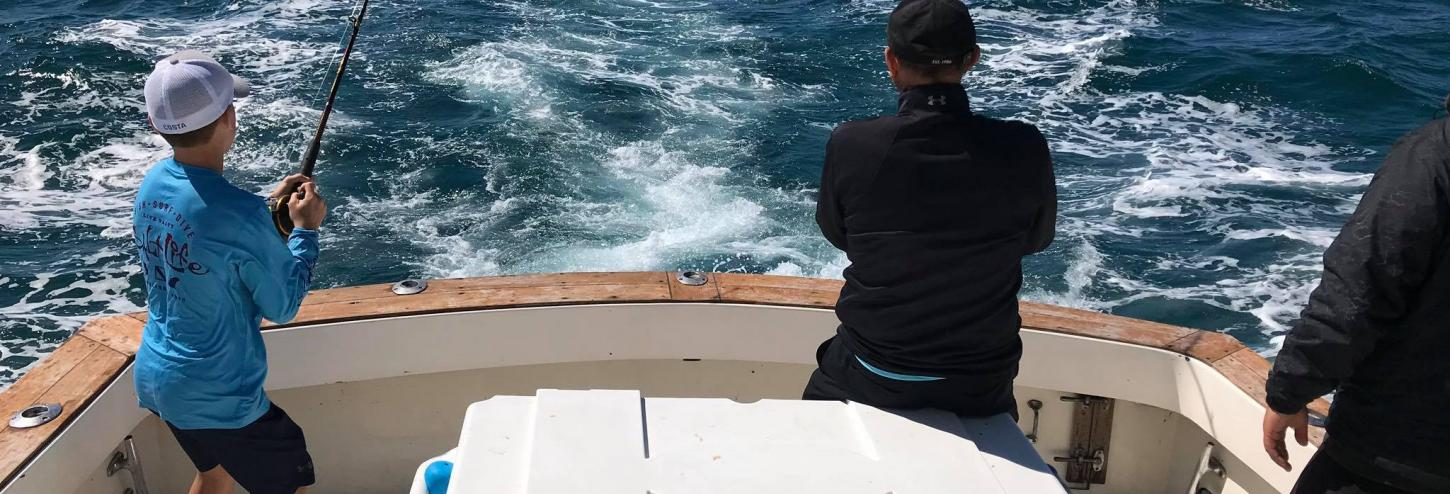 Early Riser Charters boat