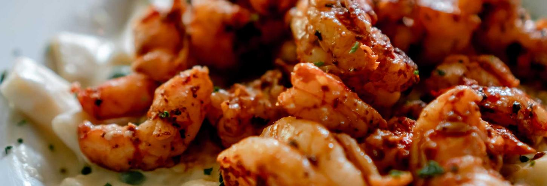 Shrimpy's Blues Bistro blackened shrimp