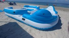 Madeira Beach raft